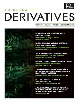 The Determinants of CoCo Bond Prices | The Journal of Derivatives