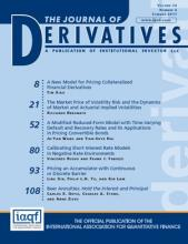 The Journal of Derivatives: 24 (4)