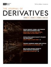 The Journal of Derivatives: 25 (2)