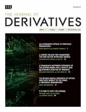 The Journal of Derivatives: 25 (3)