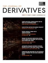 The Journal of Derivatives: 26 (2)