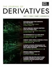The Journal of Derivatives: 26 (3)