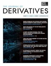 The Journal of Derivatives: 26 (4)