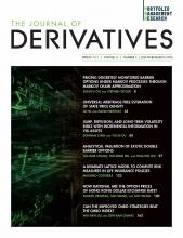 The Journal of Derivatives: 28 (3)